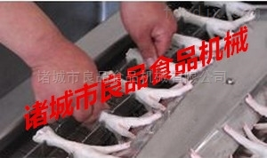 LPQG-1000鸡爪凤爪切割机价格、泡脚鸡爪切骨机