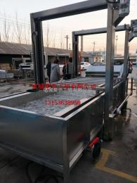JX-1400干辣椒清洗烘干流水线,红辣椒漂烫风干机