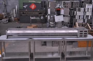 JRD伊黎黑金钢无油烟烧烤炉2.5米