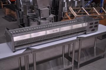 JRD廠家直發1.8米燒烤電烤爐黑金剛過環保