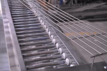 JRD供應大慶3米黑金鋼無煙電燒烤爐廠家