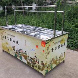 6盘酒店油皮机 豆皮机生产厂家