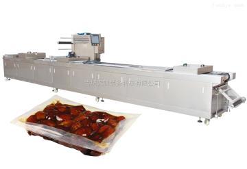 320型糖果全自动拉伸膜真空包装机