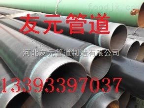 齐全污水处理排放用3pe防腐钢管+防腐钢管厂家库存多