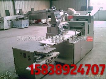 QY-SBJ制作酥饼专用酥饼机生产线