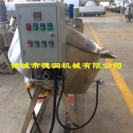 500L豆浆蒸煮电加热夹层锅