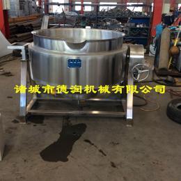 300L电加热夹层锅 食堂蒸煮炒菜锅