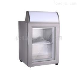 SD-21B杭州歐朗21升迷你冷凍柜玻璃門冷凍箱