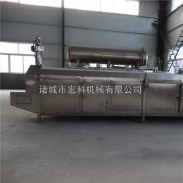 hk-900隧道式网带速冻机 压缩机 批量快速急冻 禽肉乳制品也可用