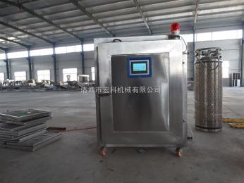 HK-800柜式液氮速冻机 单开门 推车式冷冻冰柜 中小型面食饺子专用
