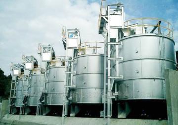 高温好氧发酵罐高效发酵有机肥