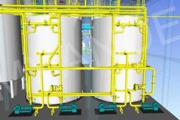 淀粉糖工程主要設備和系統