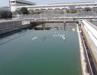 安裝大型污水處理廠