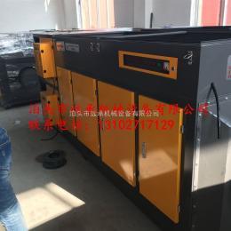DLZ等离子油烟异味除臭 油漆烤漆房净化设备光氧催化设备一体机