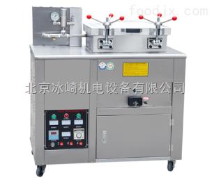 bj76电加热压力炸鸭机器|全电压力炸鸡鸭设备|电气两用炸馋嘴鸭炉