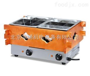 bj58雙盆十八格關東煮機|北京煮麻辣燙機器|18格便利店關東煮機