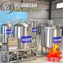 600L供應雞血豆腐生產線設備工藝流程
