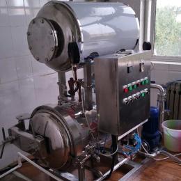 600*1000高壓噴淋式殺菌鍋