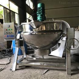 200L导热油煮牛骨夹层锅