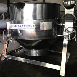 300L酸菜炒制夹层锅