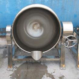 300L药材煮锅 不锈钢肉块卤煮夹层锅