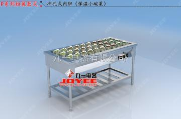 LC-ZT-P简易款盒饭保温快餐柜厂家直销定制