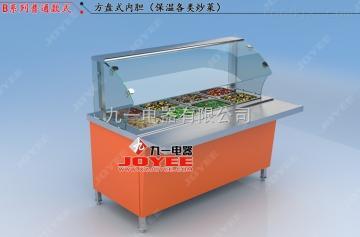LC-ZT-B炒菜保温柜快餐保温展示柜徐州厂家直销全国