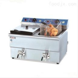 北京商用炸雞柳的爐子 電熱鹽酥雞油炸機 