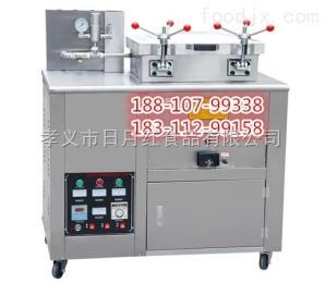 北京做姜茶鴨的設備|北京炸雞鴨機器|脆皮鴨炸熟機器