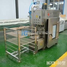 xz-100电加热100kg白糖熏鸡烟熏炉厂家