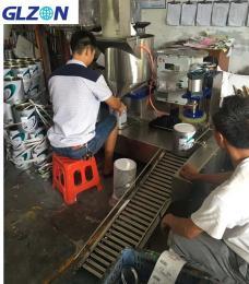 GZ称重型液体胶水灌装机液面下灌装