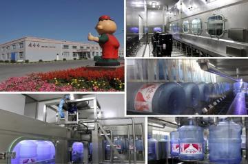 HSG桶装水设备福建桶装矿泉水PLC控制系统灌装设备生产线