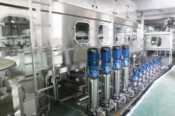 HSG桶装水设备广东桶装水推入式灌装生产线