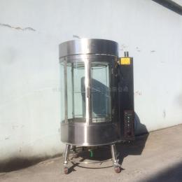 YM-800800木炭燃氣兩用旋轉烤爐 脆皮烤鴨爐
