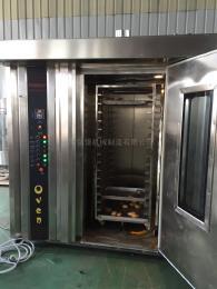 hx-100D32盤熱風旋轉烤爐 臺車爐 月餅加工廠用烤箱