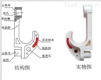 PVC礦用電纜掛鉤PVC礦用電纜掛鉤生產廠家