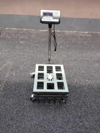 TCS-QC-YD枣庄150kg不锈钢移动式电子台秤
