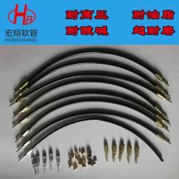 18053449863纤维编织高压树脂管,润滑管路高压黄油软管