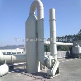 φ1200*4500濮陽噴漆房廢氣處理方案工程案例