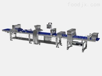 U-1168型北京眾力精機丹麥發酵面團生產線蛋撻牛角包