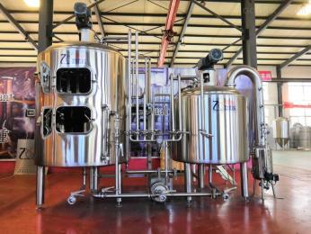 ZH-2000L微型精酿啤酒设备厂家