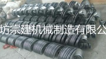各种型号连续冷轧螺旋叶片