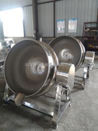 JY500L不锈钢蒸汽电加热夹层锅蒸煮锅500升