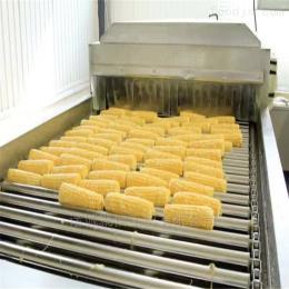 聚信内蒙古甜玉米加工清洗漂烫流水线