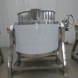 XL-100L厂家直销不锈钢可倾式肉制品蒸汽夹层锅专业制作