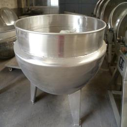50L厂家直销月饼熟面全自动搅拌炒锅 立式搅拌夹层锅设备生产厂家