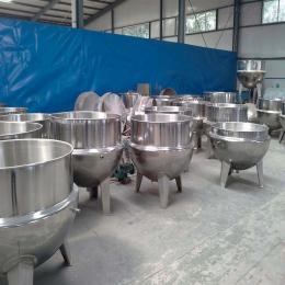XL-100厂家直销电加热大型食堂蒸煮搅拌夹层锅 可来图定制