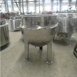 200L厂家直销豆沙、果蓉、果酱可倾式搅拌炒锅蒸汽夹层锅