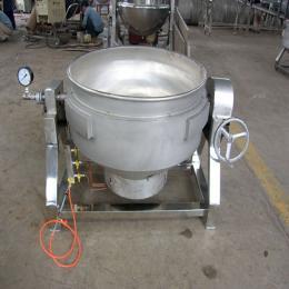 XL-100厂家直销可倾立式电加热导热油搅拌夹层锅