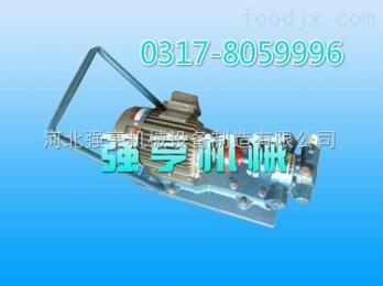 YDCB湖南强亨机械YDCB移动式齿轮泵常用于输送汽油燃油润滑油